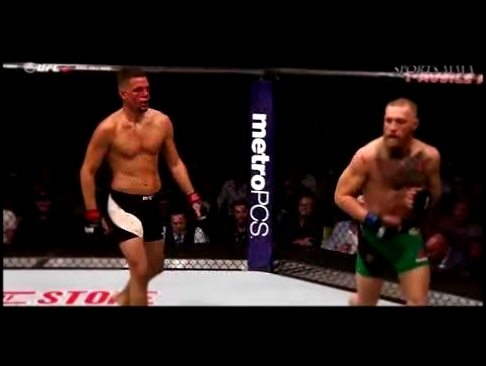 Conor McGregor vs Nate Diaz 2 FIGHT HIGHLIGHTS смотреть онлайн