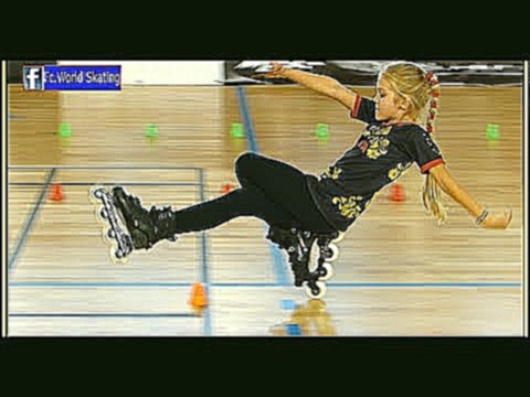 Fantastic little girl ! the best talent in the world 2016 Rollerblade Freestyle Slalom dancing usa смотреть онлайн