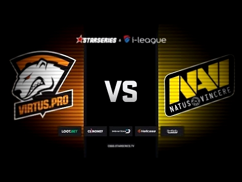 Virtus.pro vs Natus Vincere, map 2 mirage, StarSeries i-League Season 5 Finals смотреть онлайн