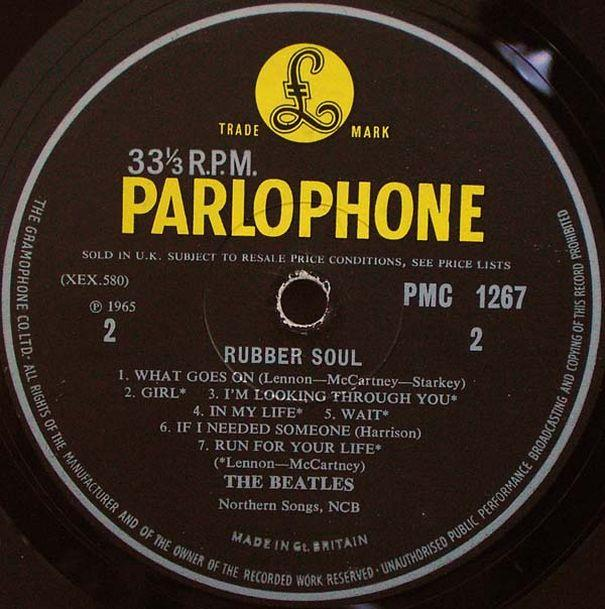Rubber Soul 1965 The Beatles
