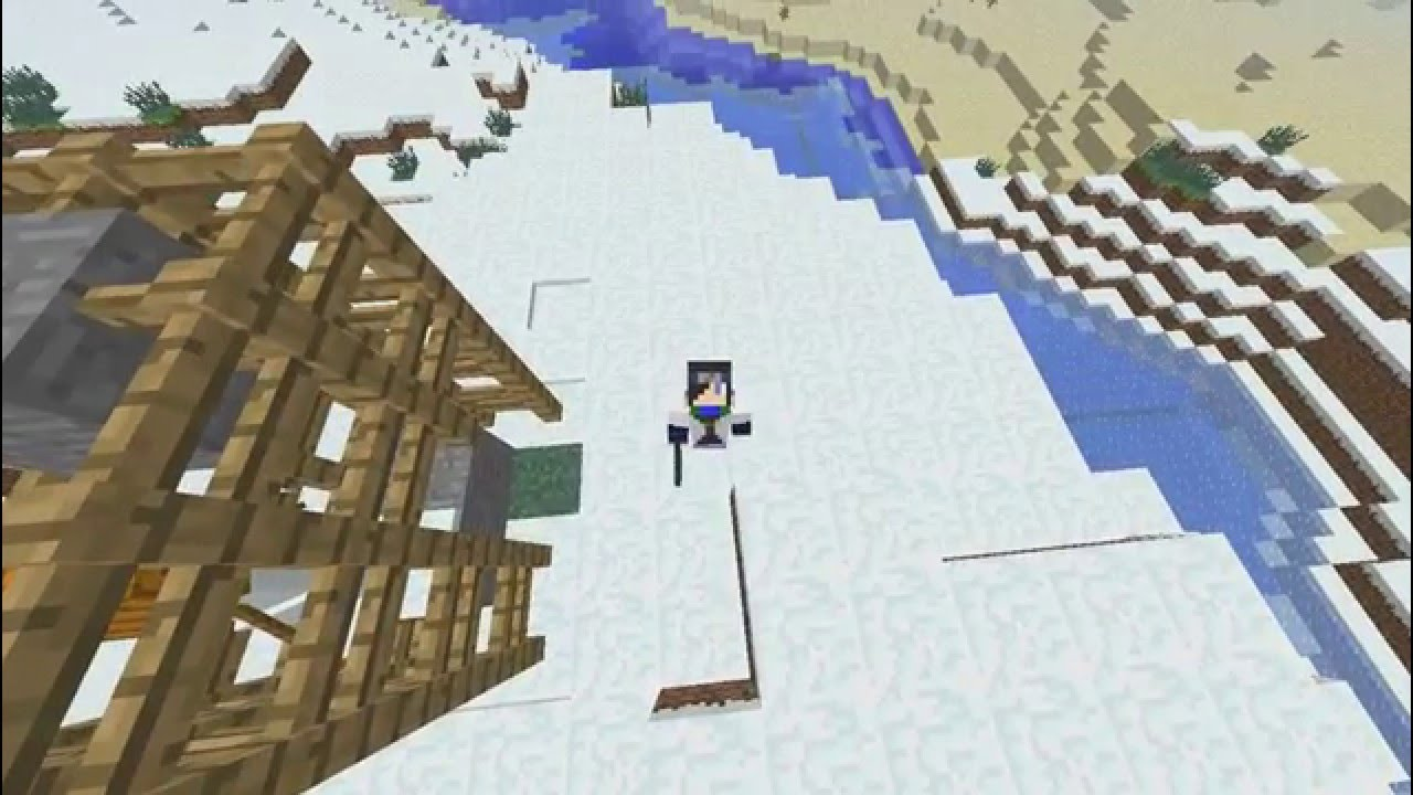 как делать в майнкрафт снег #10